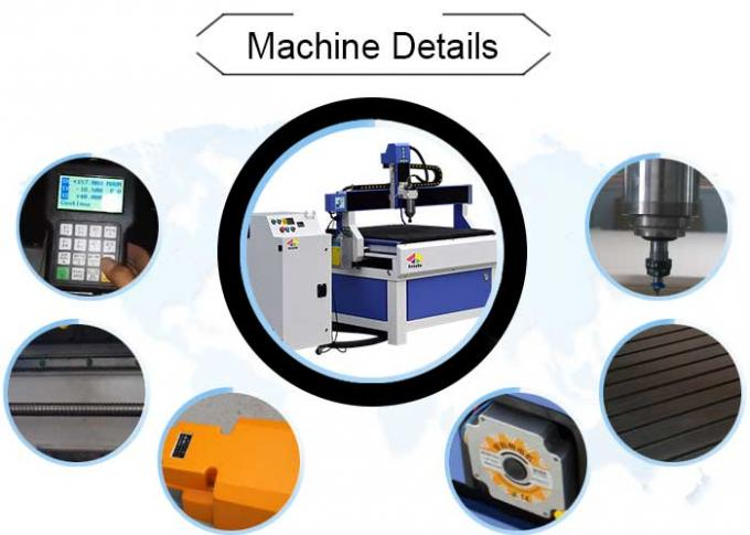 6090 Benchtop CNC Milling Machine With 1200 Mm * 1200 Mm T - Slot Table