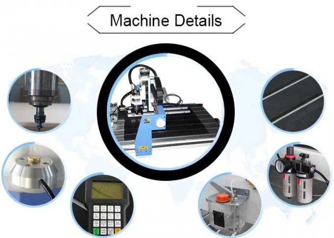 4 axis Rotary Axis Small CNC Milling Router Machine For Cylinder Carving