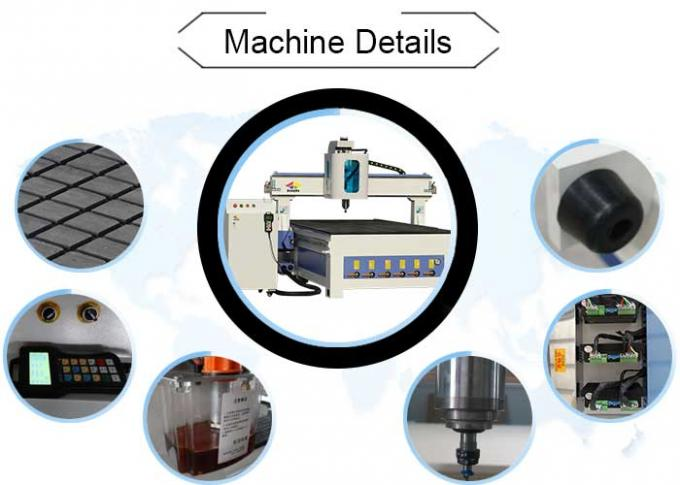 Steel Structure CNC Router Engraving Machine With Yaskawa Servo Motor