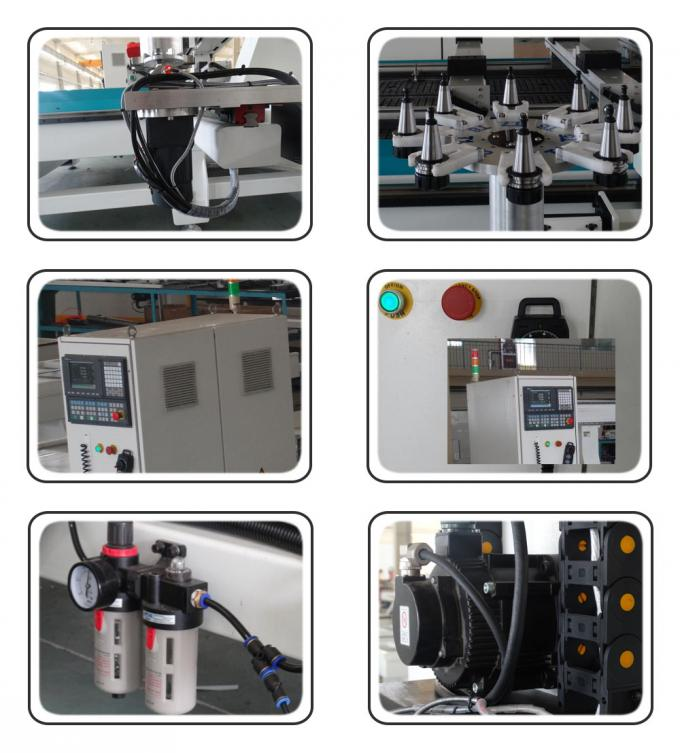 4 Axis CNC Router Machine CNC Milling Equipment With Mist Cooling System
