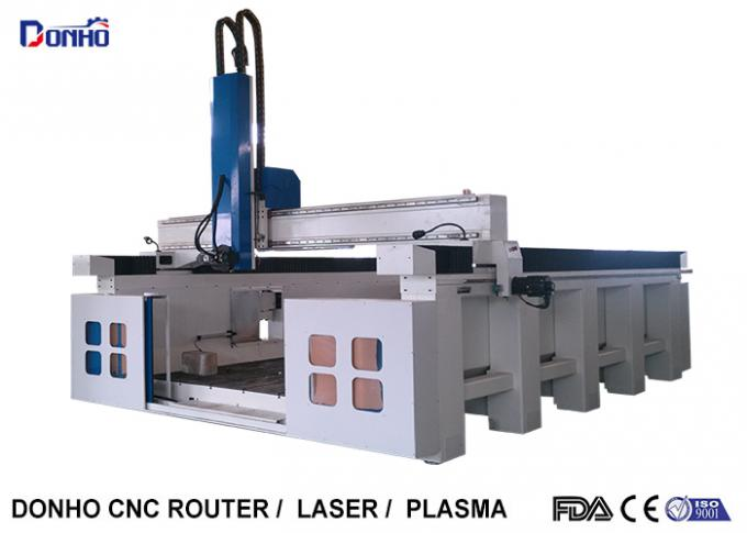 4 Axis CNC Router Engraver Machine / High Precision CNC Milling Machine