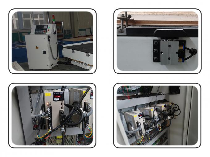 9.0 KW Air Cooling Spindle CNC 3D Router Milling Machine For Carving Harder Materials