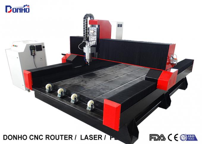 3D CNC Router Engraving Machine For Stone , Desktop CNC Router Engraver