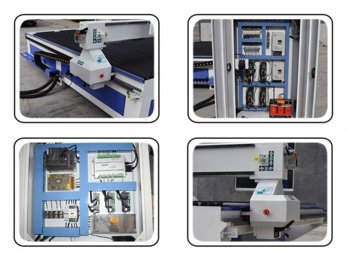 Four Spindles CNC Router Machine / C And C Router Table For Fuiniture Industry