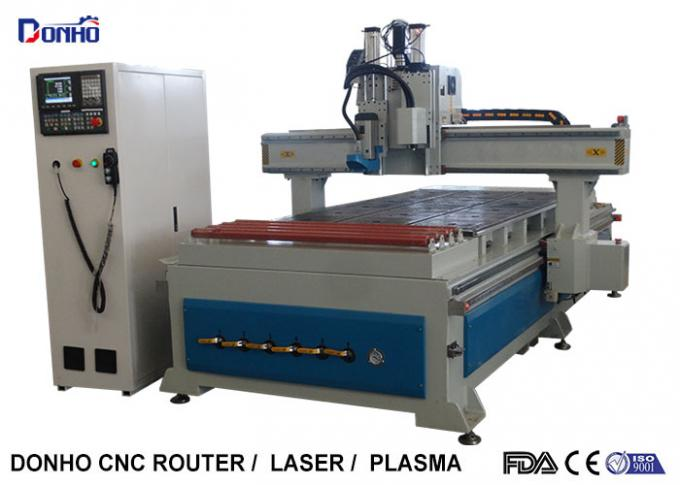 Woodworking CNC 3D Router Machine With Conveyor Wheel Syntec Control System