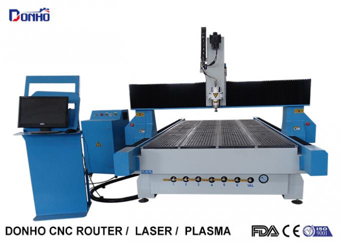 Industrial CNC 3D Router Machine , Computer Controlled Router Table Easy Operate