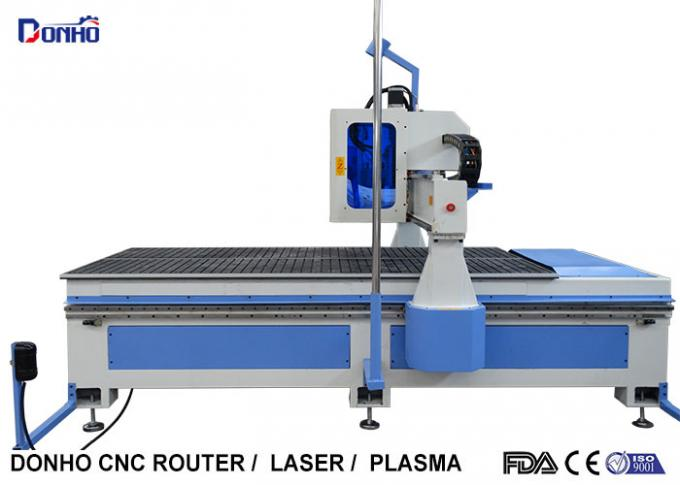 MDF Plate Cutting 3 Axis CNC Router Machine With Infrared Sensing System