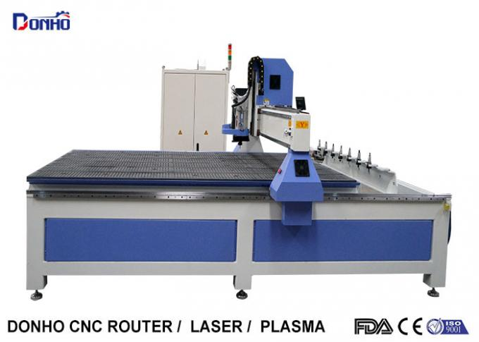 Linear ATC CNC Router Computerized Wood Carving Machine With Heavy Duty Body