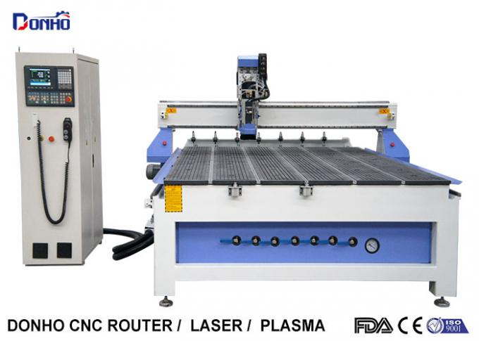 Linear ATC CNC Router Machines With Syntec 6MB Control System 9.0 KW HSD Spindle