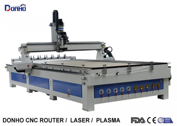 ATC CNC Wood Milling Machine Craftsman CNC Router With Two Linear Tools Banks