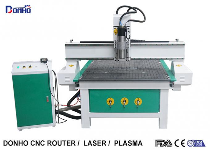 Wood Carving CNC Router Milling Machine With Air Cooling Spindle Vacuum Table