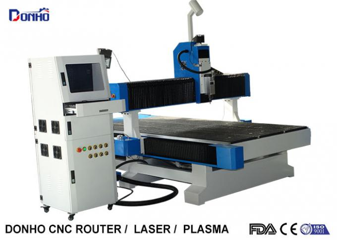 Industrial CNC 3D Router Machine , CNC Router Cutting Machine Long Working Time