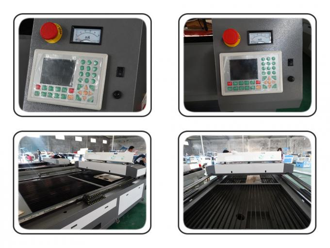 Double Heads Fabric Acrylic Laser Cutting Machine With RD 6332M Control System