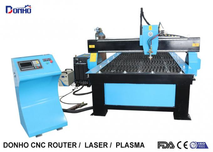 Fire Head CNC Plasma Cutting Machine Heavy Duty Body For Thickness Metal Cut