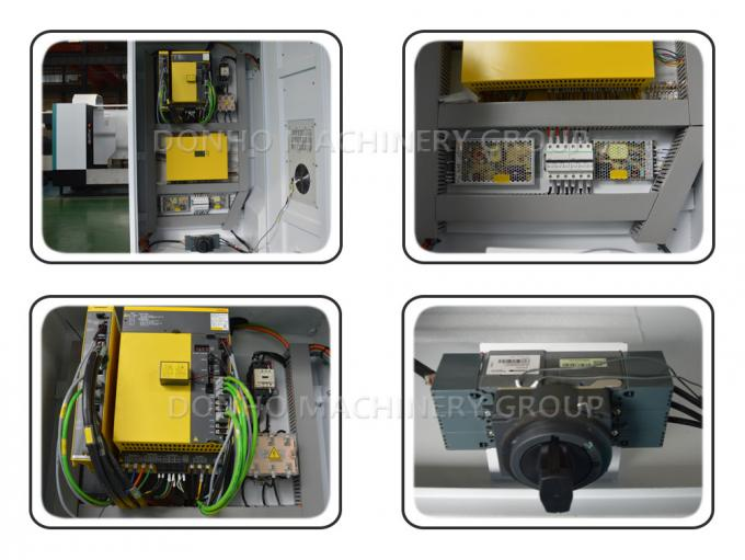 7.5 KW FANUC Spindle Motor Cnc Metal Milling Machine Automatic Lubrication System