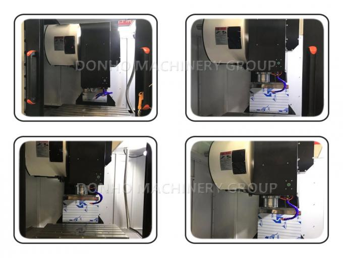 Portable Blow Air Gun 3 Axis Cnc Milling Machine For Finish Machining