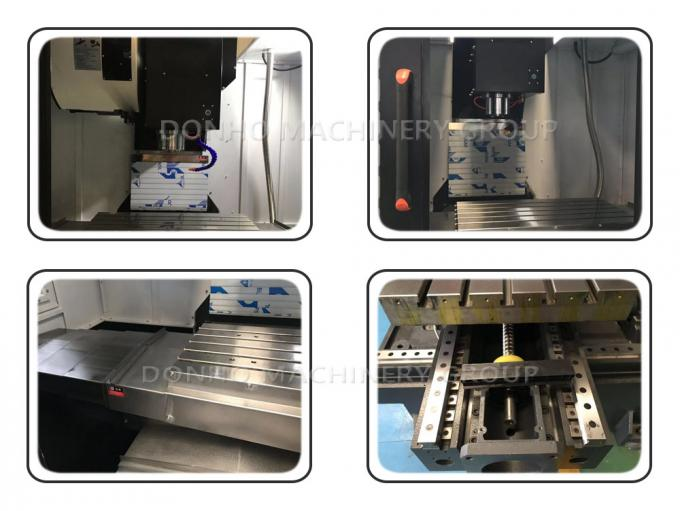 PMI Ball Screw Small Vertical Machining Center For Aluminium Processing