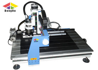 China 4 axis Rotary Axis Small CNC Milling Router Machine For Cylinder Carving supplier