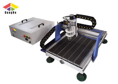 China Cast Iron CNC Milling Machine / CNC Engraver Machine For Soft Materials Carving supplier
