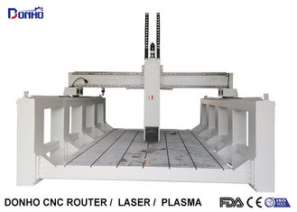 China 4 Axis CNC Router Engraver Machine / High Precision CNC Milling Machine supplier