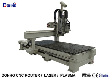 China Four Axis CNC Wood Router Milling Machine With 180 Degree Spindle Rotating supplier
