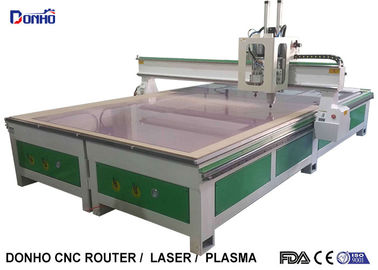 China Computerized 3D CNC Wood Carving Machine , Durable Woodworking CNC Router supplier