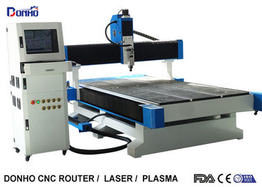China NC Studio Control System CNC 3D Router Machine with 6 Zones Vacuum Table supplier