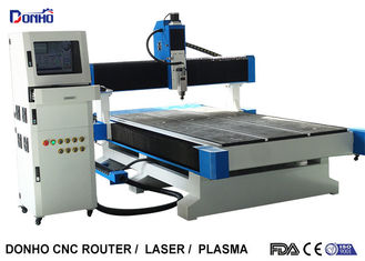 NC Studio Control System CNC 3D Router Machine with 6 Zones Vacuum Table