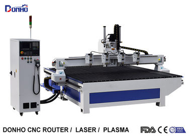 China Four Spindles CNC Router Machine / C And C Router Table For Fuiniture Industry supplier