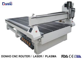 China MDF Cutting 3 Axis CNC Router Engraver With Square Spindle Vacuum Table supplier