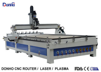China ATC CNC Wood Milling Machine Craftsman CNC Router With Two Linear Tools Banks supplier