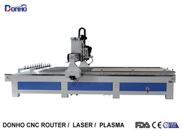 China Door Engraving ATC CNC Router Milling Machine With 10 Zones Vacuum Table supplier