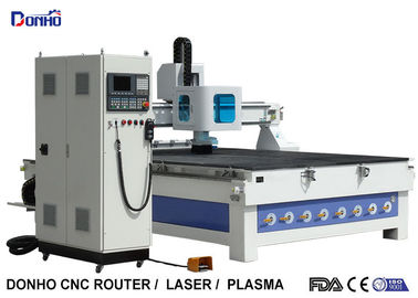 China Easy Operate ATC CNC Router Machines CNC Engraver With Linear Tool Holders supplier