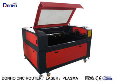 Double Color Board Co2 Laser Engraving Machine with Belt Transmission Blade Table