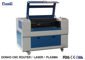 China Blue Up And Download Table Fabric Laser Cutting Machine For Thick Non Metal Cutting supplier