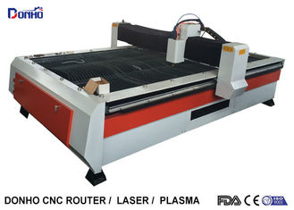 China Heavy Duty Structure CNC Plasma Cutting Machine With Chuangwei Stepper Motor supplier
