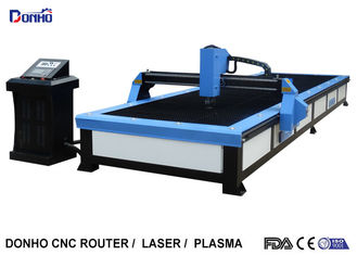 China Start Control CNC Plasma Cutting Table , Plasma Cutting Equipment For Stainless Steel supplier