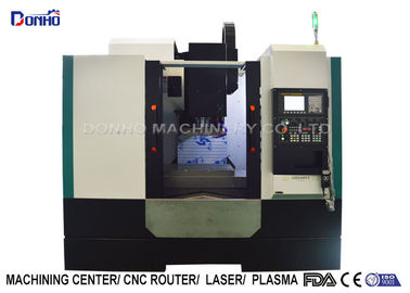 China 3 Color Alarming Lamp CNC Vertical Machining Center For Sanitary Ware supplier