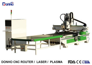 China Computerized 3D CNC Router Machine Wtih Auto Loading And Unloading System factory