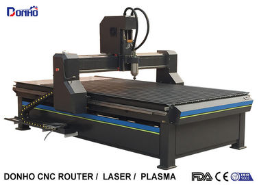 Syntec Control Three Axis CNC Router Machine With Hiwin 15 mm Square Rail