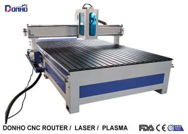 Low Noise Industrial Cnc Router Machine For Sculpture Large Plate Materials