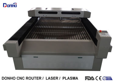 Gray Color Laser Metal Cutting Machine with Ruida Control System 1300mm x 2500mm