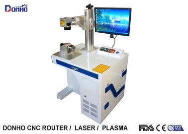 Rotary Axis Industrial Laser Marking Equipment For Cylinder Materials Marking