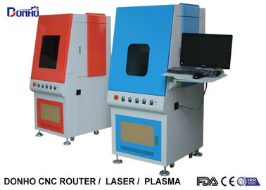 Highly Efficient Fiber Laser Marking Machine With Protective Shave Stop Laser Reflection