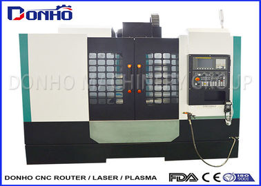 Auto Tool Changer CNC Milling Machine , 3 Axis Machine For Light Alloy Processing