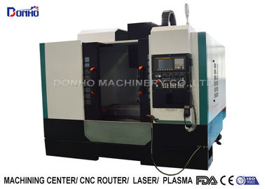 ISO Small Cnc Milling Machine For Machining Metal Castings Plumbing Fittings Products