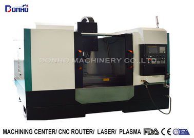 Full Cover Shroud CNC Vertical Machining Center For Iron Ore Engraving