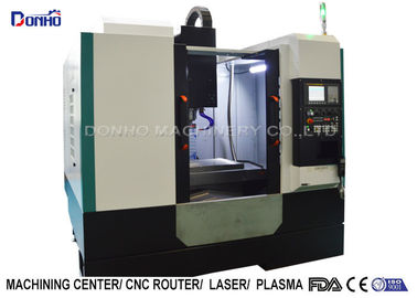 FANUC Spindle Motor CNC Vertical Machining Center For Zinc Processing